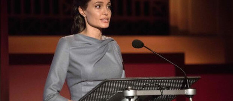 Angelina Jolie i studenci. Gwiazda Hollywood w zupełnie nowej roli