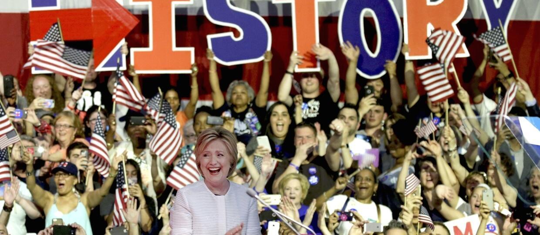 Hillary Clinton z nominacją prezydencką