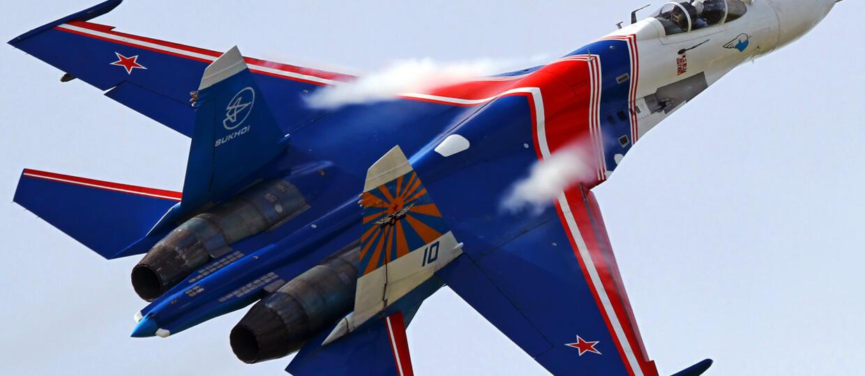 Pod Moskwą rozbił się myśliwiec Su-27. Pilot zginął