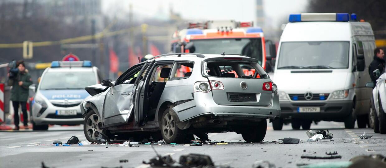 Wybuch samochodu w Berlinie