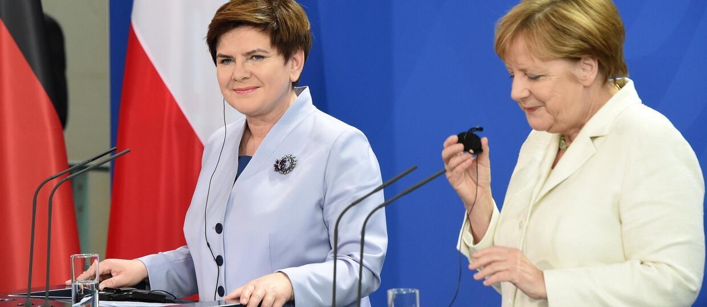 Zostańcie w Unii! Wspólny apel do Brytyjczyków Szydło i Merkel