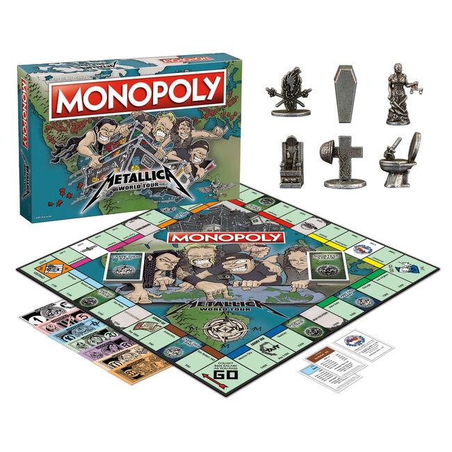 Monopoly: Metallica World Tour