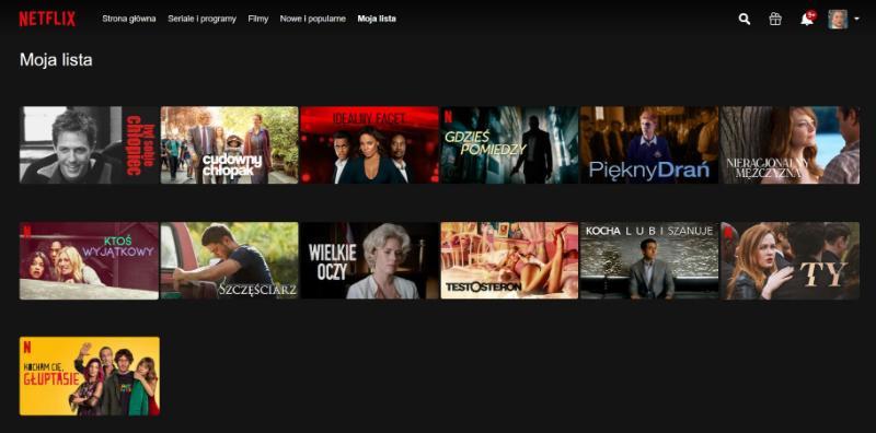 Netflix Walentynki