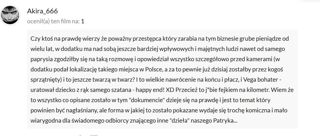 print screen z Filmweb.pl