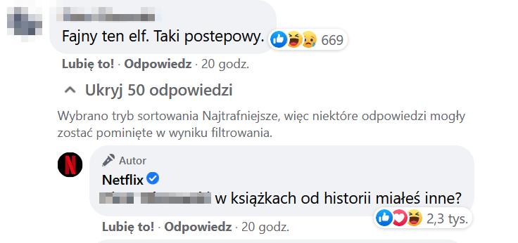 print screen z Netflix Polska