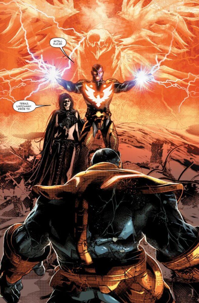 Thanos. Tom 1 - kadr z komiksu