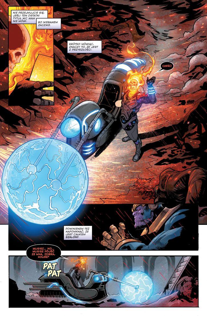 Thanos. Tom 2 - kadr z komiksu