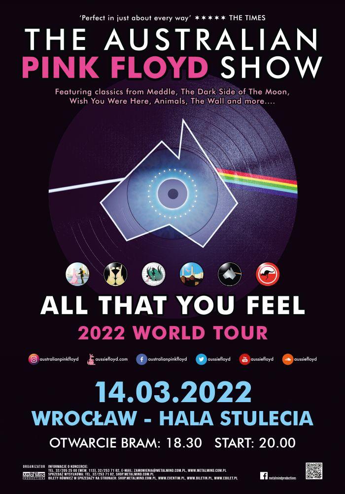 The Australian Pink Floyd Show zagra w Polsce