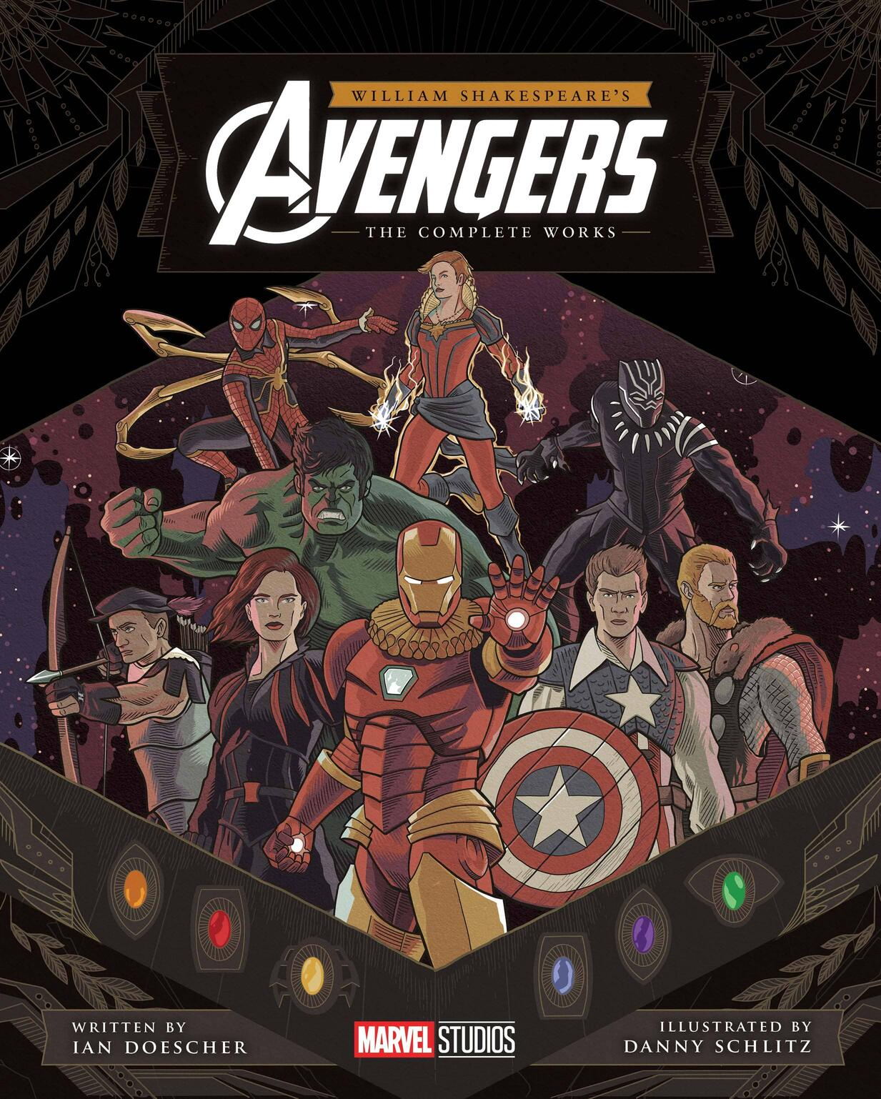 William Shakespeare's Avengers: The Complete Works.
